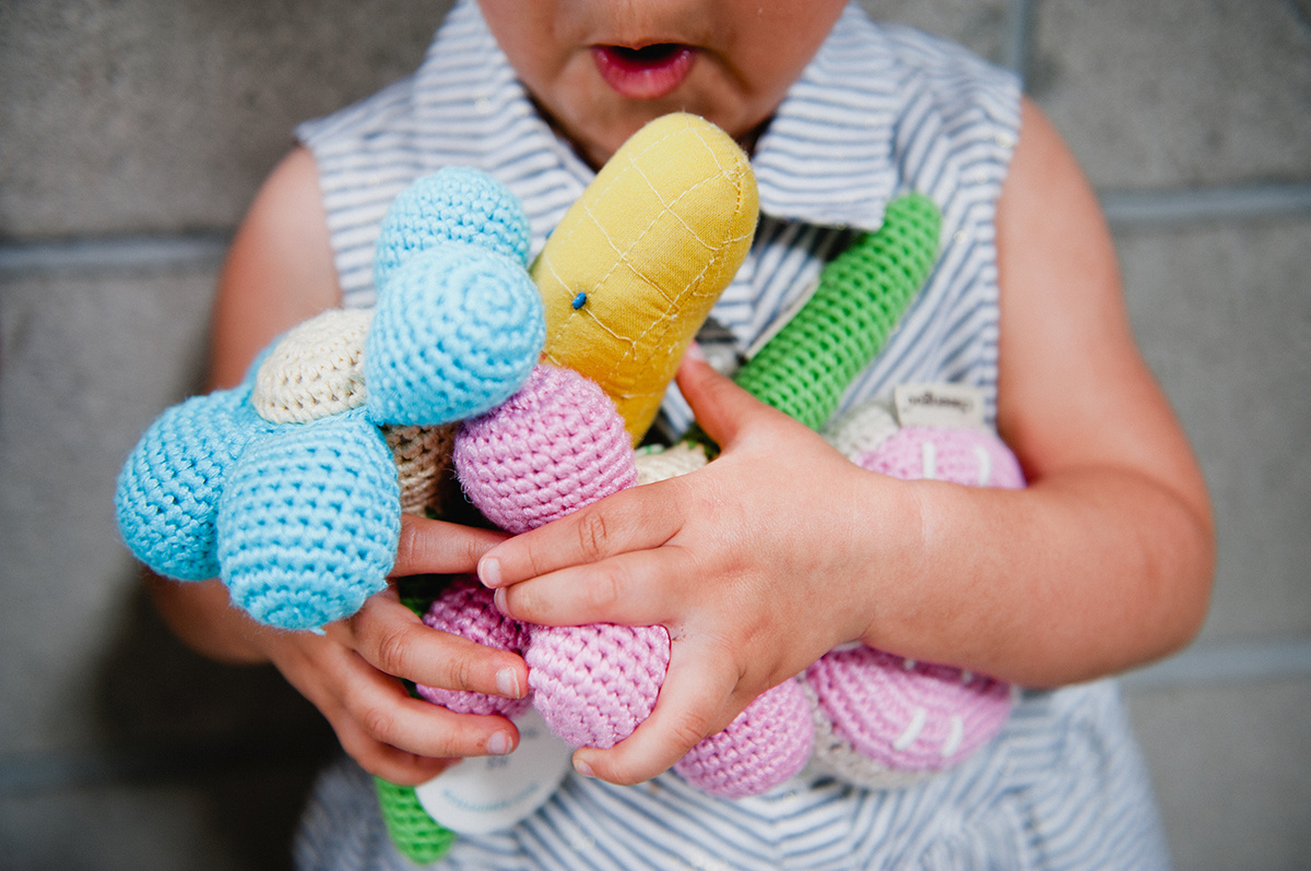 Cute crochet toys at the ShopUp
