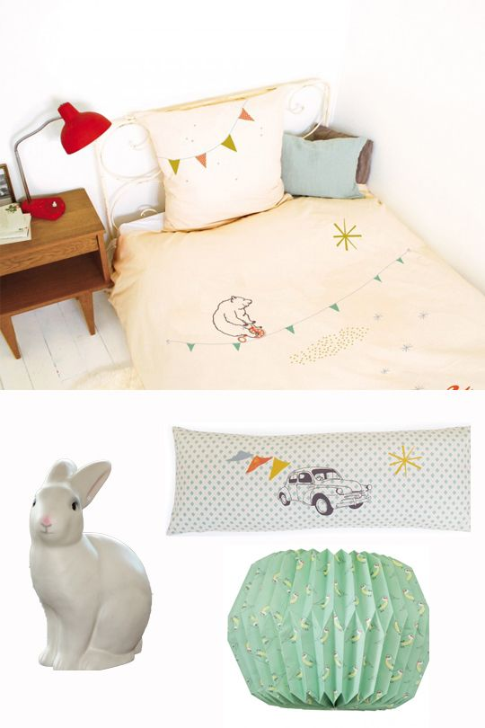 Quirky Bed Linen Part - 15: Refined Bed Linen, Quirky Lamps, Gorgeous Wall Stickers And Mobiles.