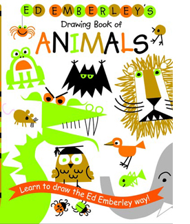 ed emberleys drawing book of animals - Drawing Books For Children