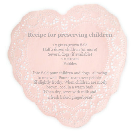 A recipe for preserving children babyccino kids daily for Paper mache ingredients