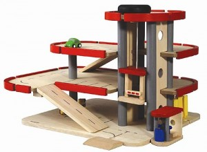 Plan Toys Garage : Parking garage by plan toys babyccino kids: daily tips childrens