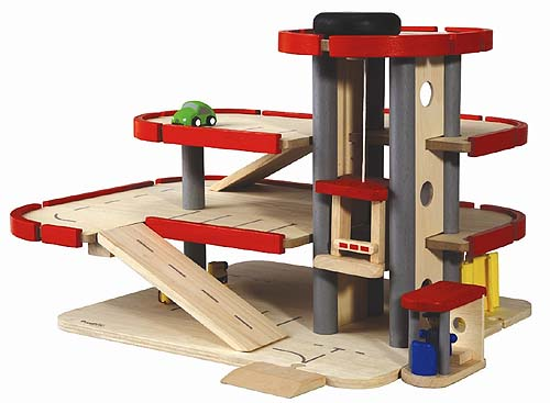 Parking Garage By Plan Toys Babyccino Kids Daily Tips