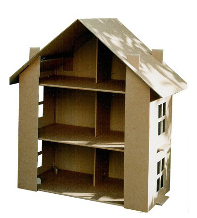 Favourite Toys Paperpod Cardboard Dolls House Babyccino Kids Daily