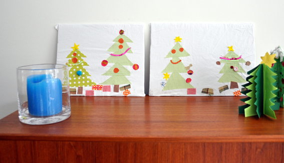 Last Minute Christmas Craft Wall Panels Babyccino Kids
