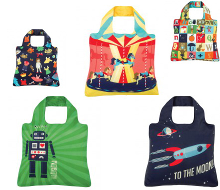 Pretty Clever These Foldable Bags And Such Fun Designs Too I Really Loathe Plastic Days Its Just A Waste