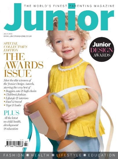 Junior Magazine Design Awards Babyccino Kids Daily Tips Children S