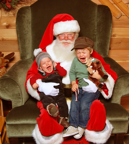 every year of my childhood my mom took us to see santa we would drive into the city head to the big department store and wait for hours in the queue to - Santa And Kids