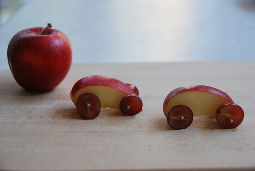 Apple Cars A Fun Little Snack Babyccino Kids Daily Tips