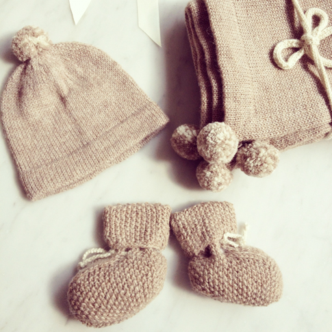 gorgeous hand knit baby clothes from fournier babyccino