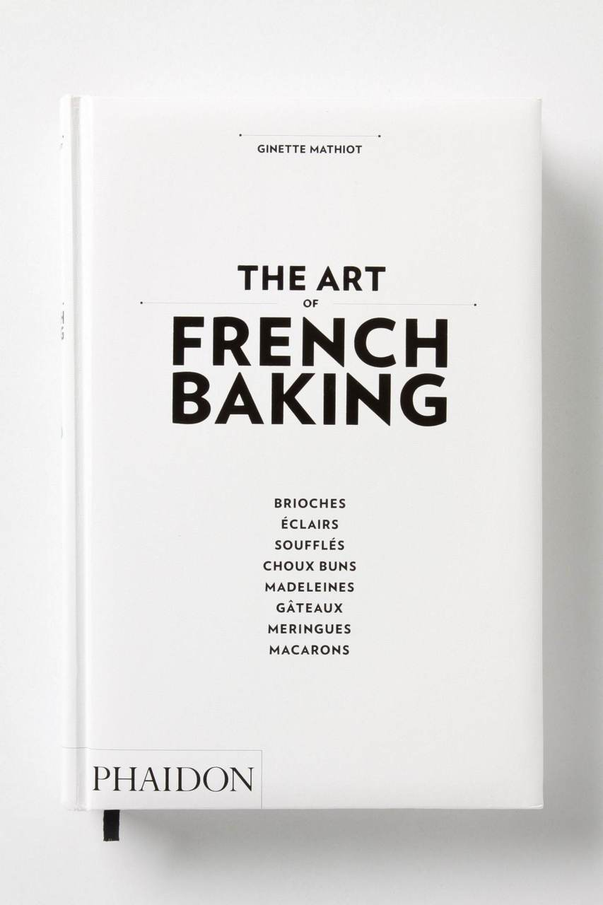 Cookbook White Cover : The art of french baking babyccino kids daily tips