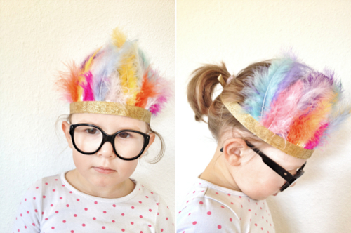 diy feather crown babyccino kids daily tips children s
