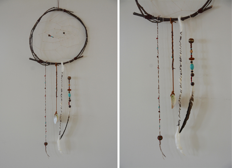 Make your own dreamcatchers babyccino kids daily tips for Ideas for making dream catchers
