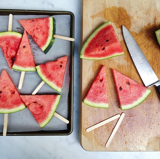 Frozen Watermelon Lollies Babyccino Kids Daily Tips