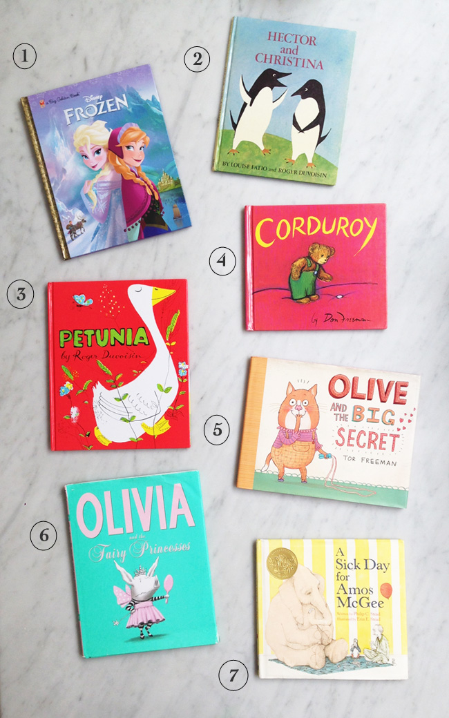 Ivy's favourite books