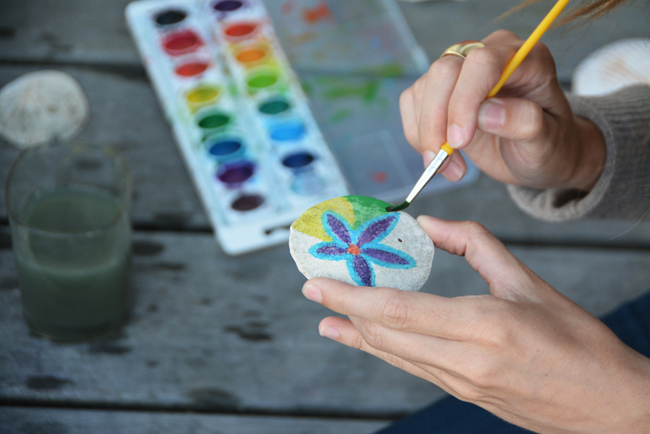 Painting Sand Dollars Babyccino Kids Daily Tips Children