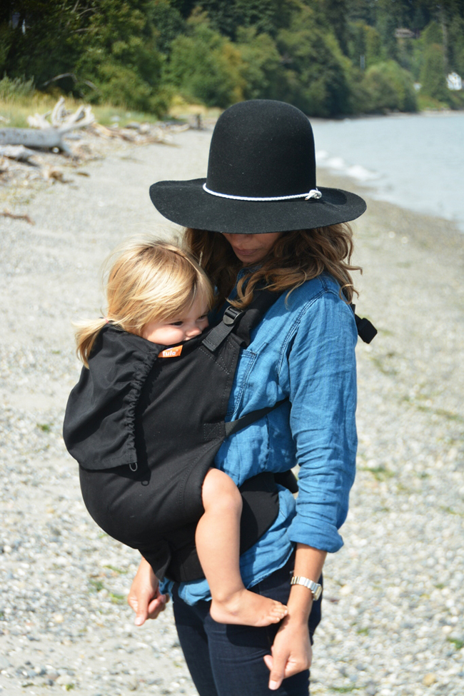marlow in tula baby carrier