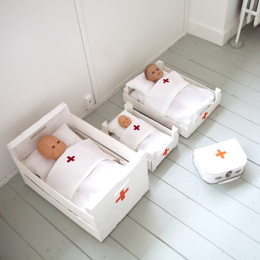 Doll Hospital Bed