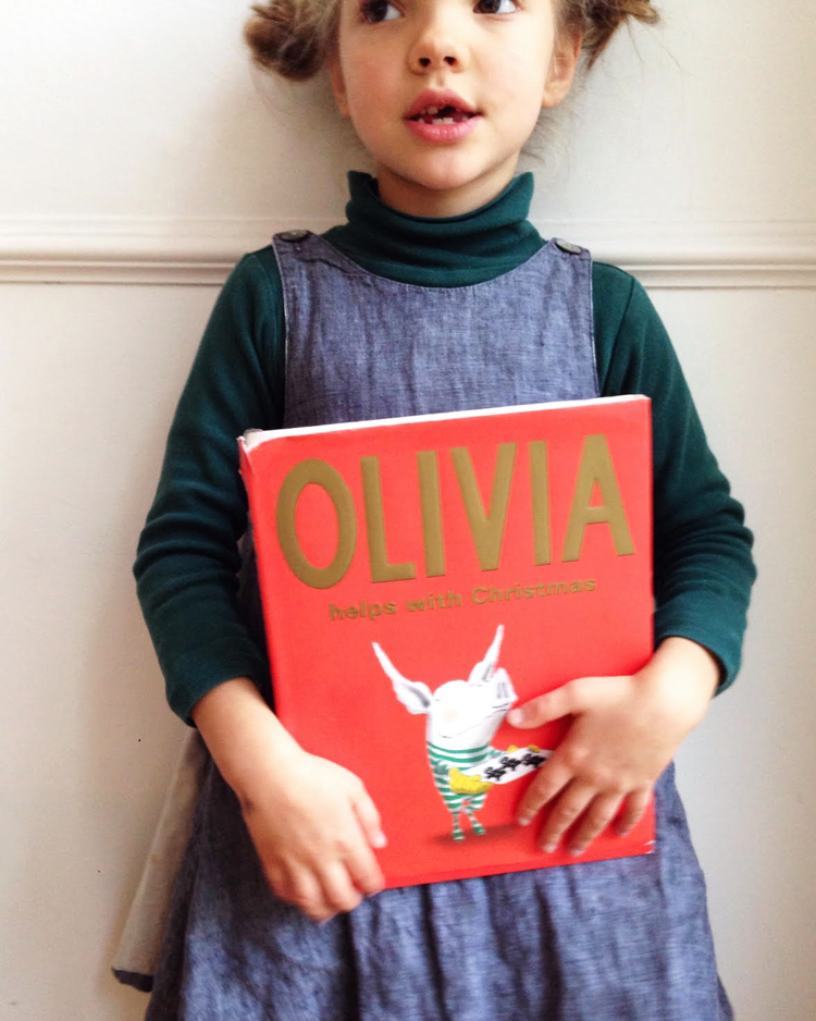 Ivy's favourite christmas book
