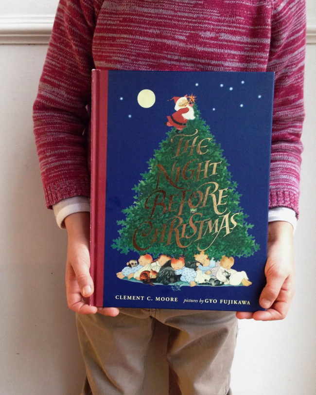 quin's favourite christmas book