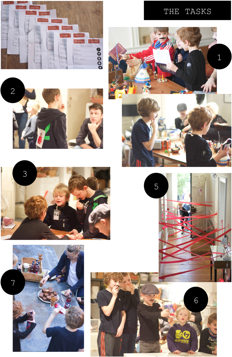 A Spy Birthday Party For An 8 Year Old Babyccino Kids
