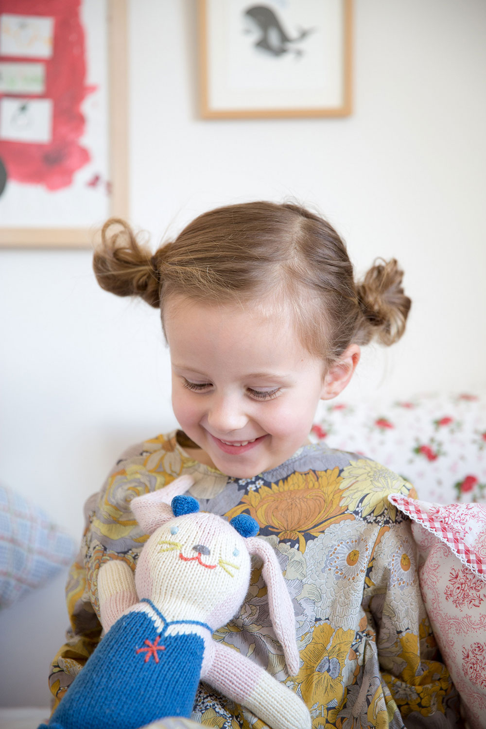 Hair Style Messy Side Buns Babyccino Kids Daily Tips