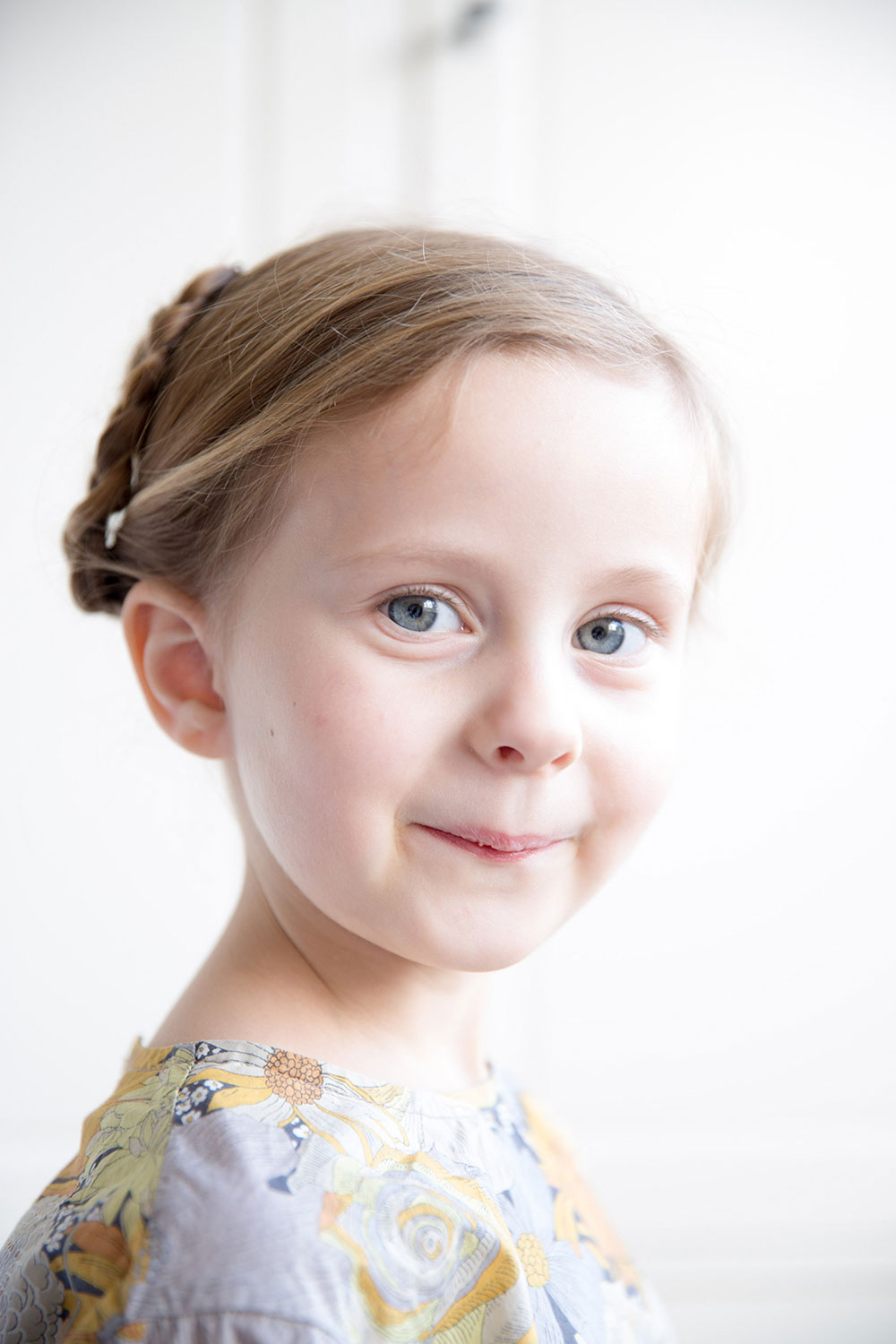 Hair Style Double Pinned Up Braids Babyccino Kids Daily