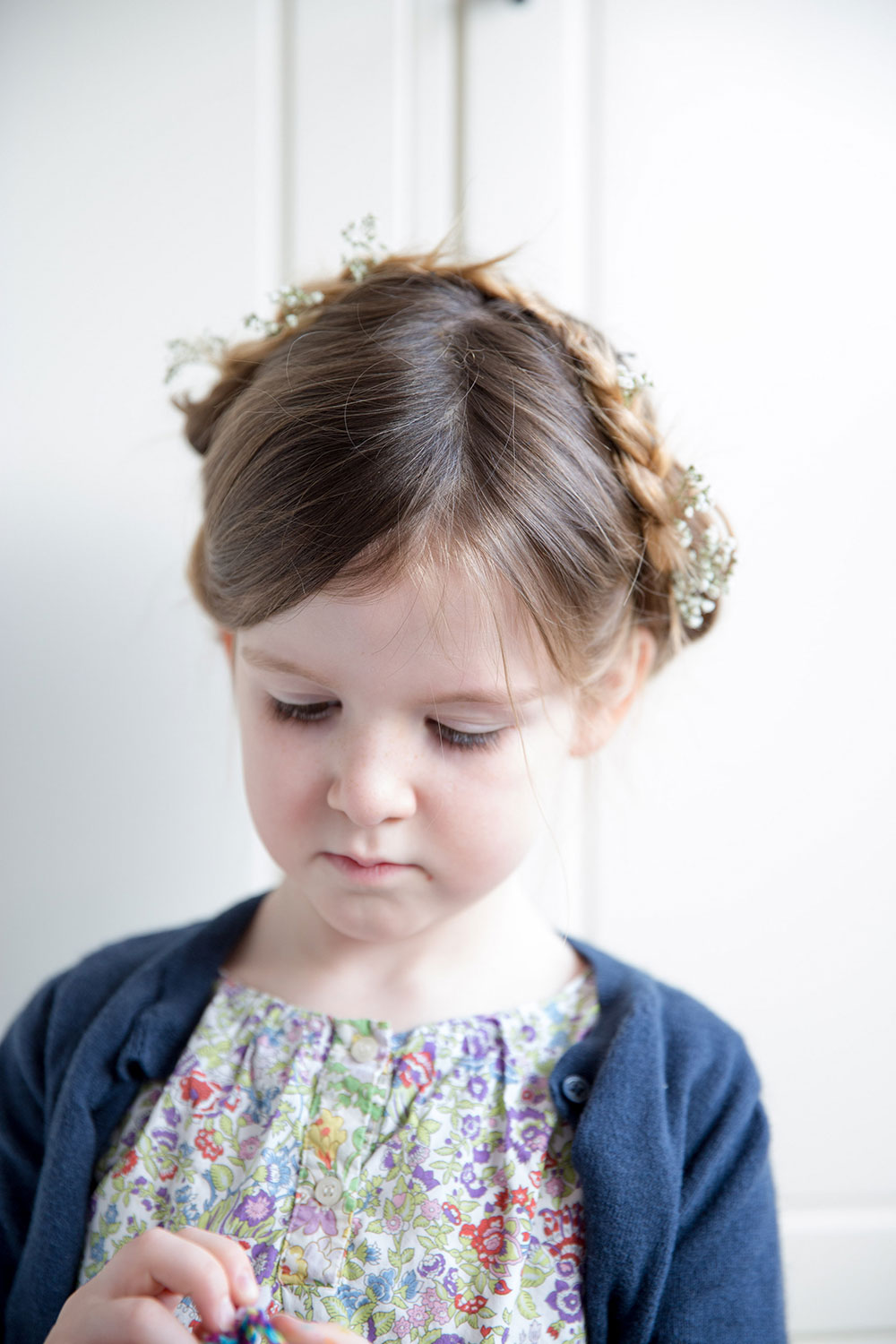 Hair Style Double Pinned Up Braids Babyccino Kids Daily Tips