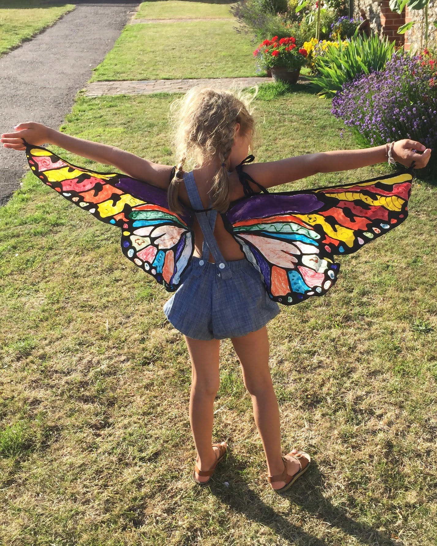 Design Your Own Butterfly Wings Babyccino Kids Daily Tips