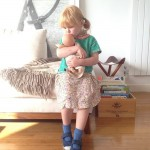 Florence and her baby