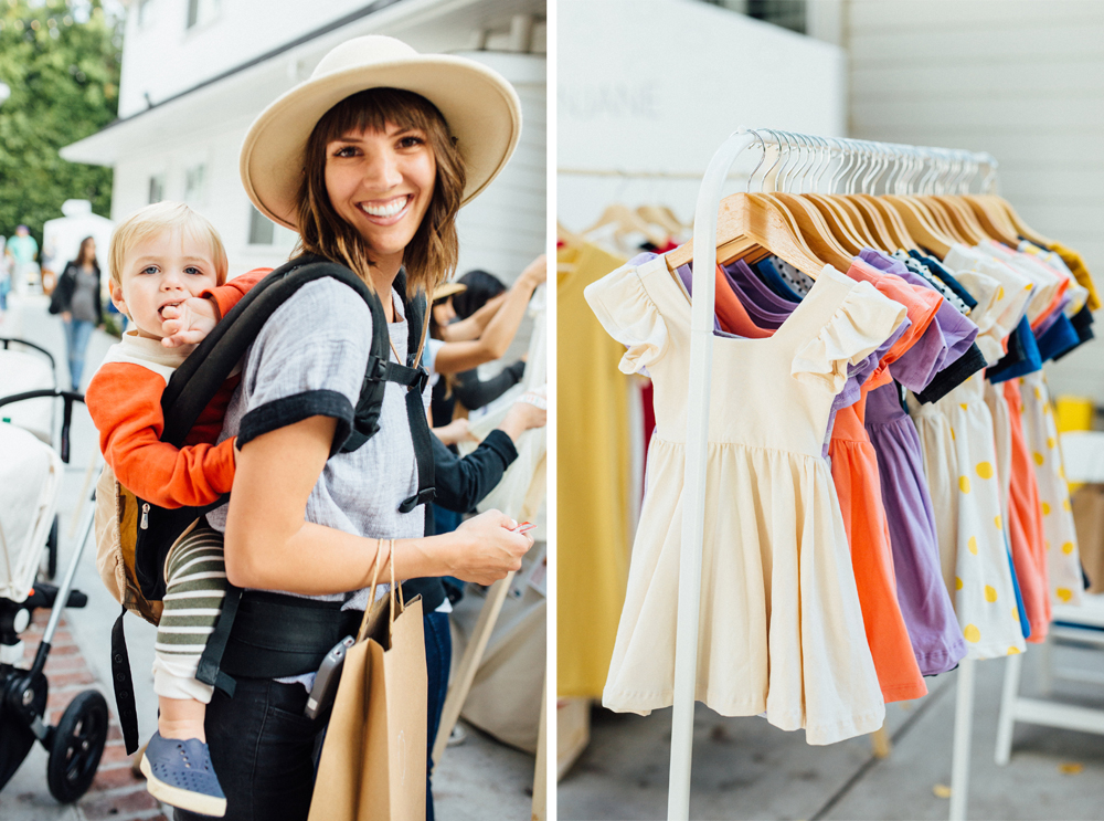 ShopUp visitor and dresses