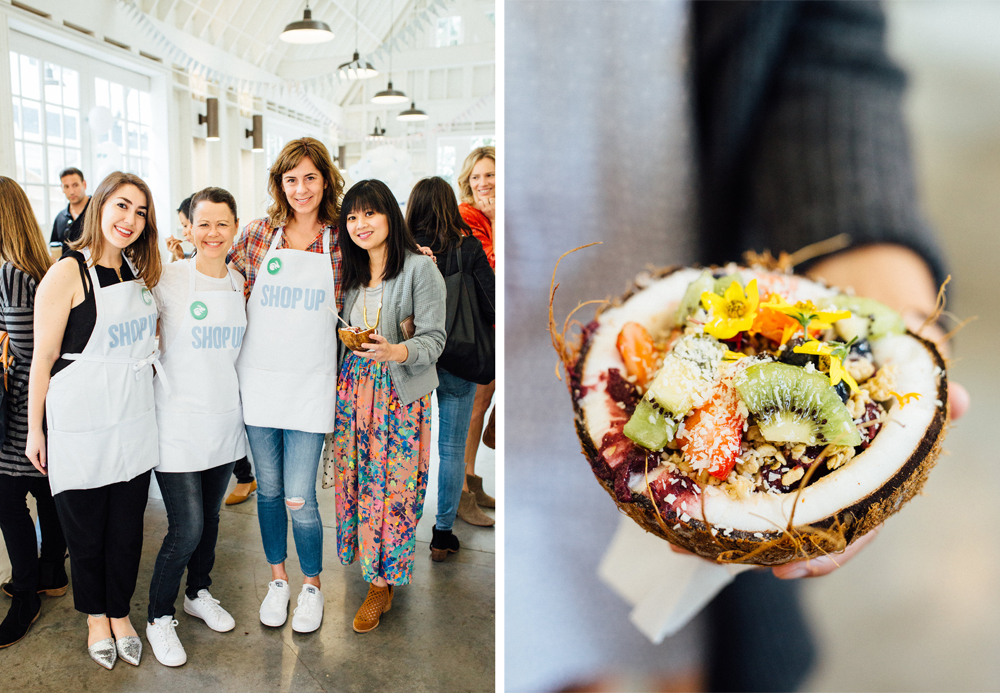 bloggers breakfast and acai bowls