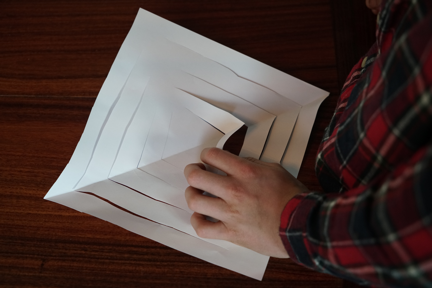 how to make scissors out of paper