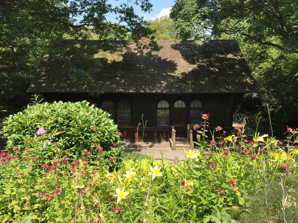 Swedish Cottage Marionette Theater from the Shakespeare Garden