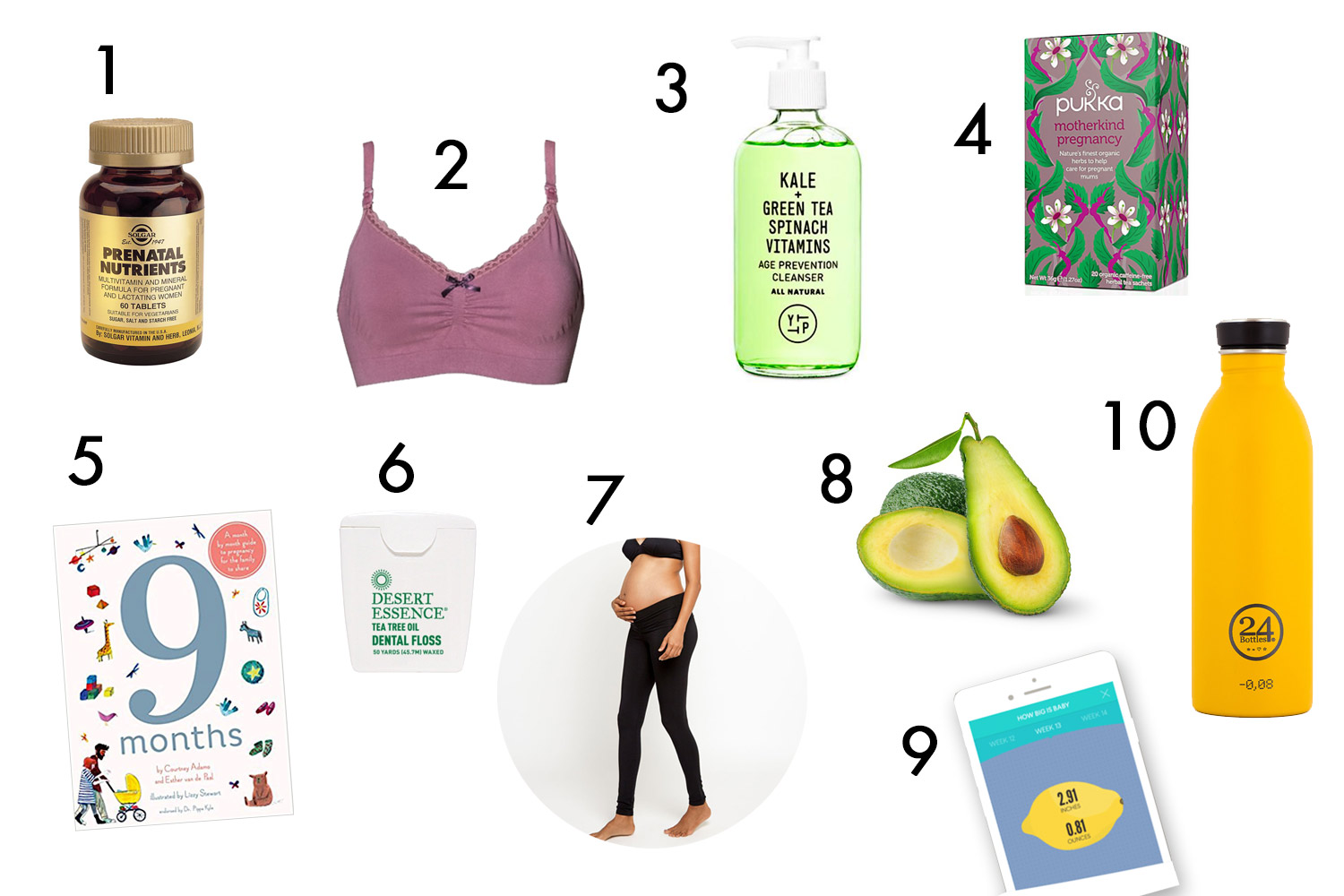 what to get in the first trimester