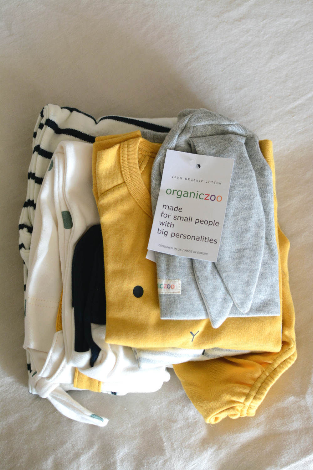 Organic And Playful Baby Clothing From Organic Zoo