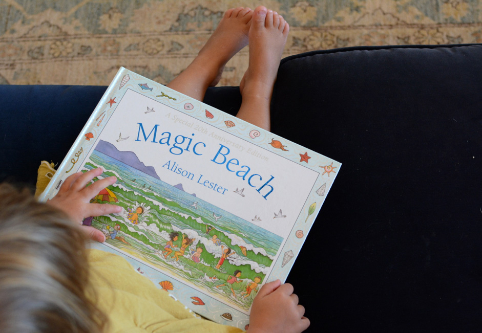 Magic Beach A Beautiful Picture Book By Alison Lester Babyccino