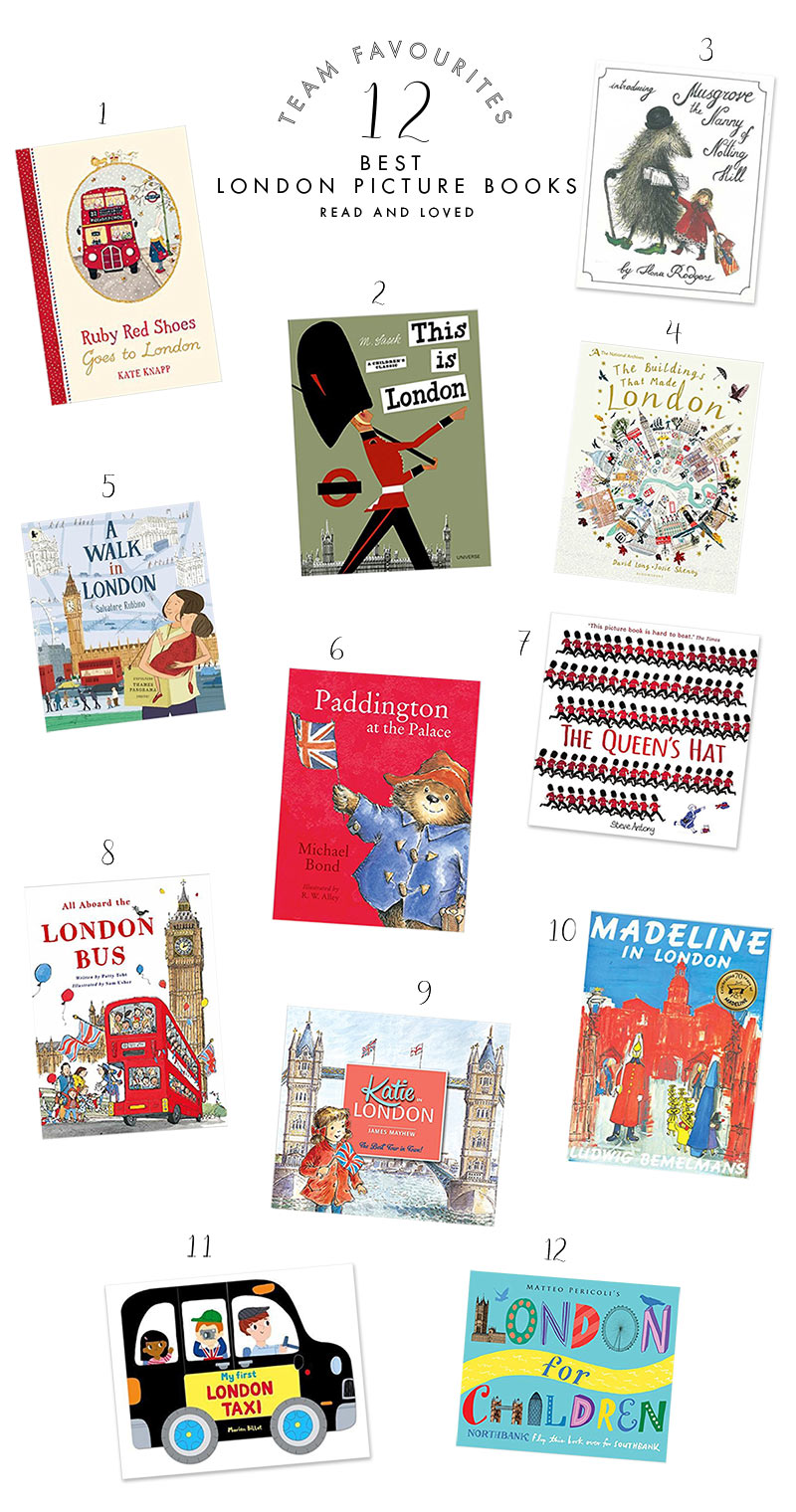 The Best London Themed Picture Books For Children Babyccino Kids