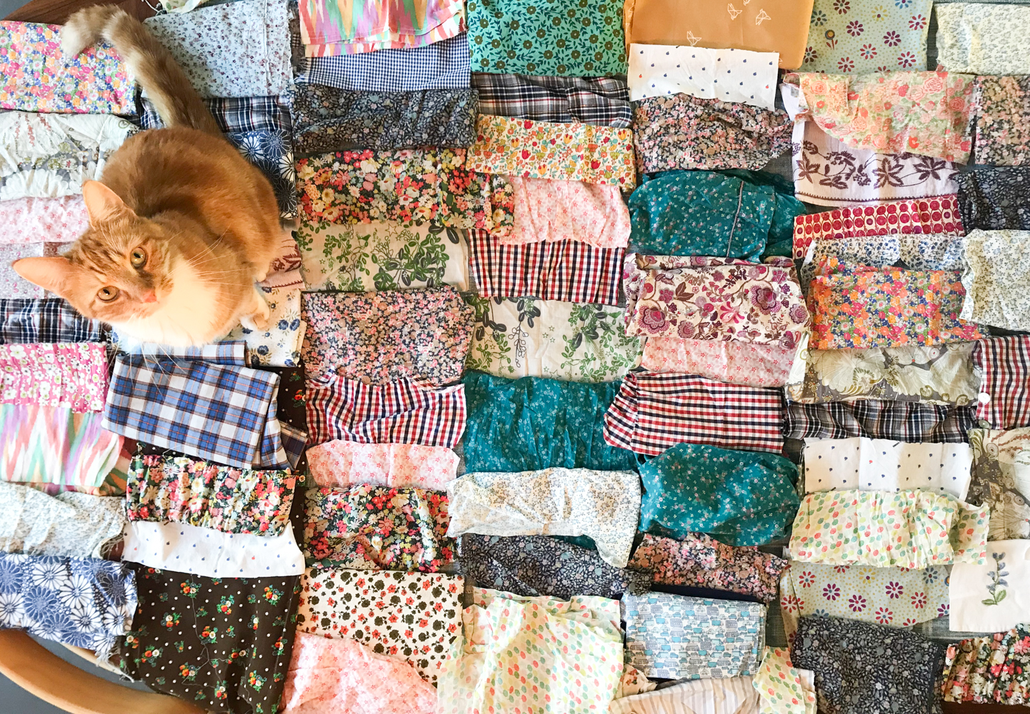 Making A Quilt From Fabric Remnants And Old Dresses Babyccino Kids