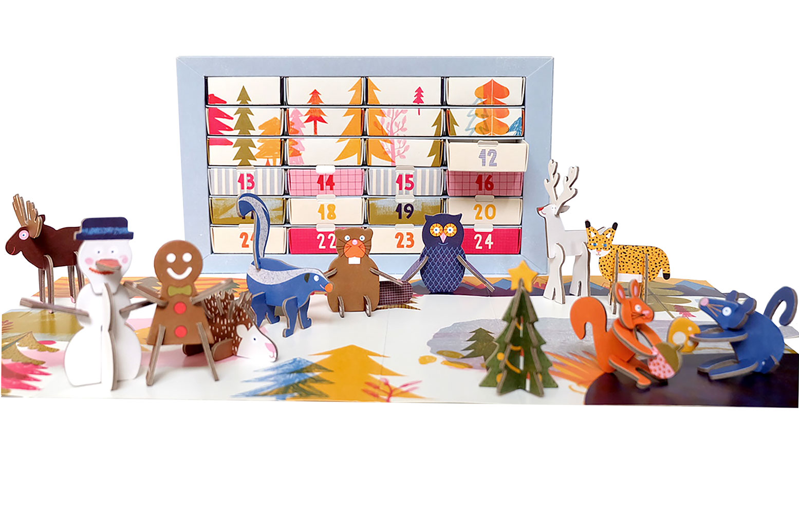 Playinchoc Organic Chocolate Advent Calendar And Stocking